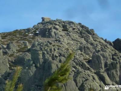 Guadarrama;Pico de la Najarra-el real de san vicente el tiemblo castañar parque natural de redes as